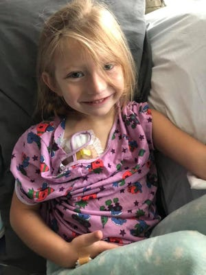 A GoFund Me page has been set up for 5-year-old Eleanor Payran of Long Pond, who was recently diagnosed with cancer.