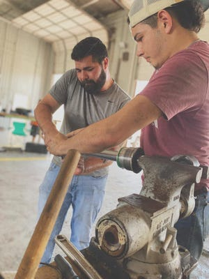 Duval County native Johnny Soliz opened his new business Industrial Diesel Service LLC on 850 East Commerce in Alice on March 3, 2020.