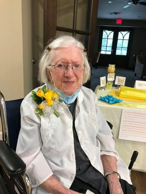 Sister Marcella Schmalz of St. Scholastica Monastery celebrated her 100th birthday on July 5, 2020.