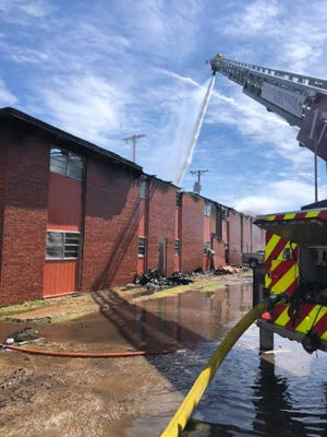 Lubbock Fire Rescue responded to a fire at the River Oaks Villa Apartments Sunday morning. One person is confirmed to have died from the fire.