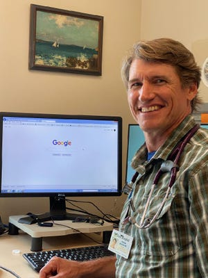 Dr. Trevor Braden, a family practitioner in Kittery affiliated with York Hospital, said physicians jokingly tell their patients not to confuse Google MD with their medical degree. He said Google can take a patient down a rabbit hole.