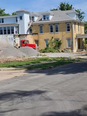 Demolition of the old Woodland Hospital property began June 26.