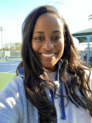 Hendrickson tennis coach Teri Saunders, who's in her first year at the school, led the Hawks to the playoffs for the first time in school history.