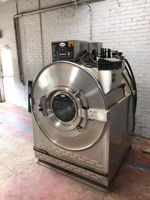 The Barnwell County Sheriff's Office donated this used gear washer/extractor to the Barnwell County Fire Service to help local fire departments in the fight against firefighter cancer. The washer will clean fire gear pants and coats that have been exposed to carcinogens. It is housed at the Williston Fire Department.