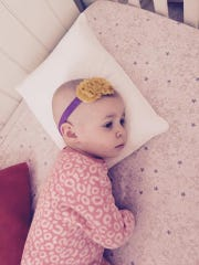 Elena Aversa, 2, is in the midst of aggressive chemotherapy.