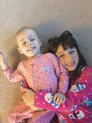 Elena, 2, loves nothing more than playing with her sister Annalise, 6.