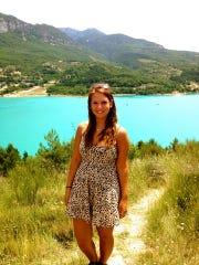 Megan Holt of Bridgewater visited Lac de Sainte-Croix