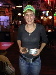 Jessica Pendleton at a party at el Bait Shop to celebrate