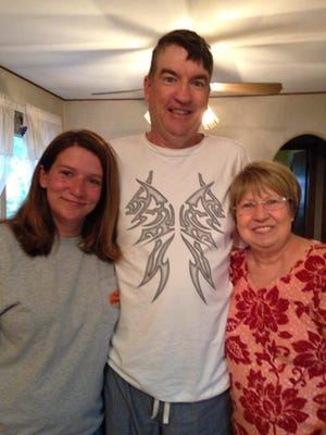 George Gosden, a missing Fort Collins, man stands with his niece, Tonya Hooker, and sister-in-law, Portia Gosden.