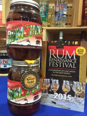 Wicked Dolphin's Strawberry Rumshine wins gold this past weekend at the Rum Renaissance Festival in Miami.