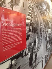 The Selma Interpretive Center features a permanent exhibit on the struggle for voting rights. Theresa Hall of the the Selma to Montgomery National Historic Trail said the movie will be great publicity for Selma and the center.