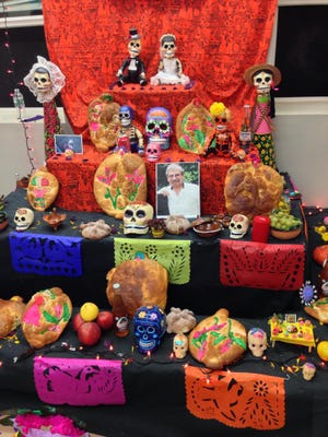 Visitors can vote on their favorite Day of the Dead altar at various Main Street businesses this week.
