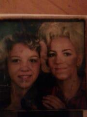 Tammy Jo Alexander and her mom, Barbara