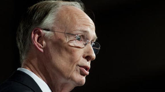Governor Robert Bentley gives his State of the State
