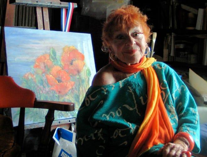 Artist and chanteuse Ilona Royce Smithkin.