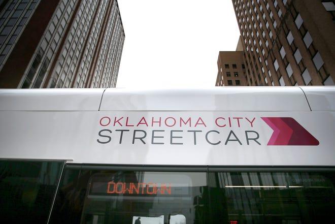 The Oklahoma City Streetcar began service Dec. 14, 2018. [Photo by Sarah Phipps, The Oklahoman]
