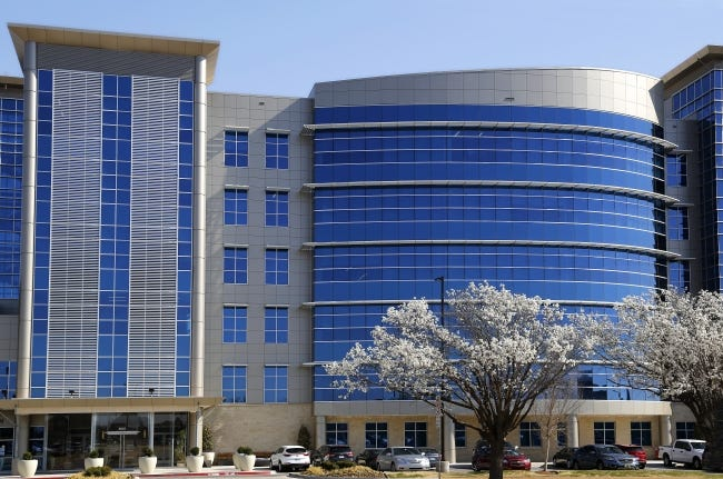 Gulfport Energy's Oklahoma City headquarters in 2018. [THE OKLAHOMAN ARCHIVES]