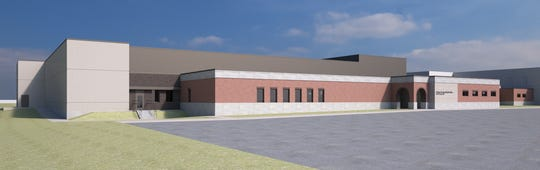 The new sheriff's office and jail would total 110,000 square feet of space.