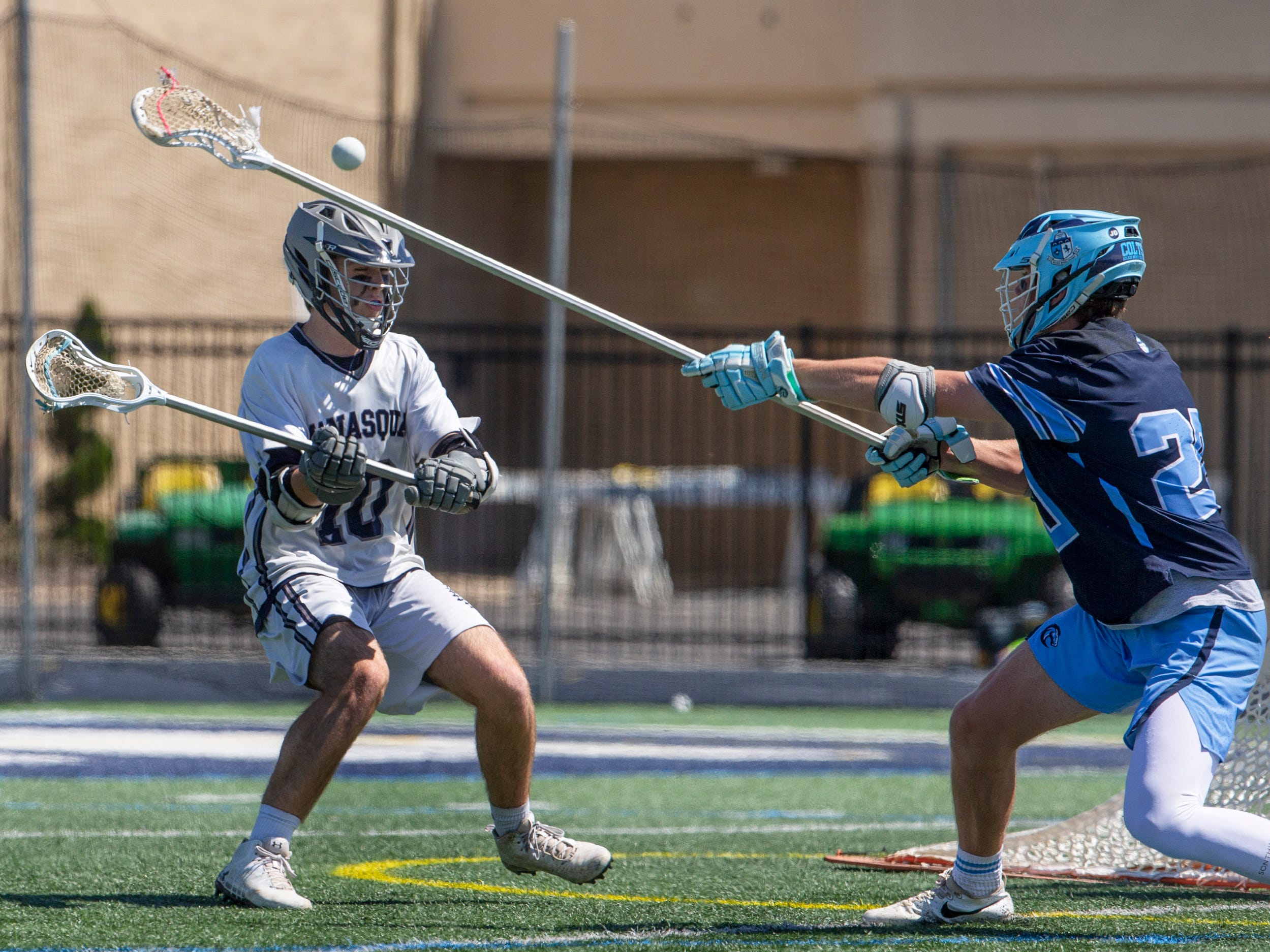 Manasquan Boys  defeat Christian Brothers Academy in Shore Conference Boys  Lacrosse final in West Long Branch, NJ on May 11, 2019.