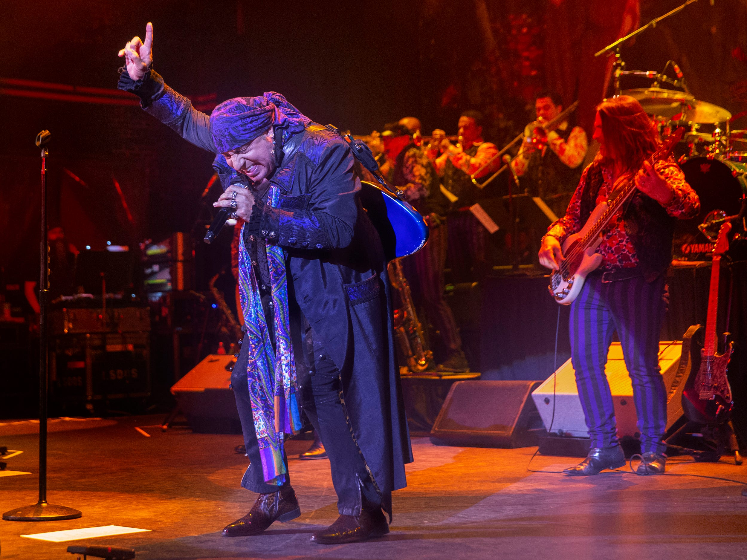 """Little Steven and the Disciples of Soul record release show for their new album """"Summer of Sorcery"""" at the Paramount in Asbury Park on May 8, 2019"""