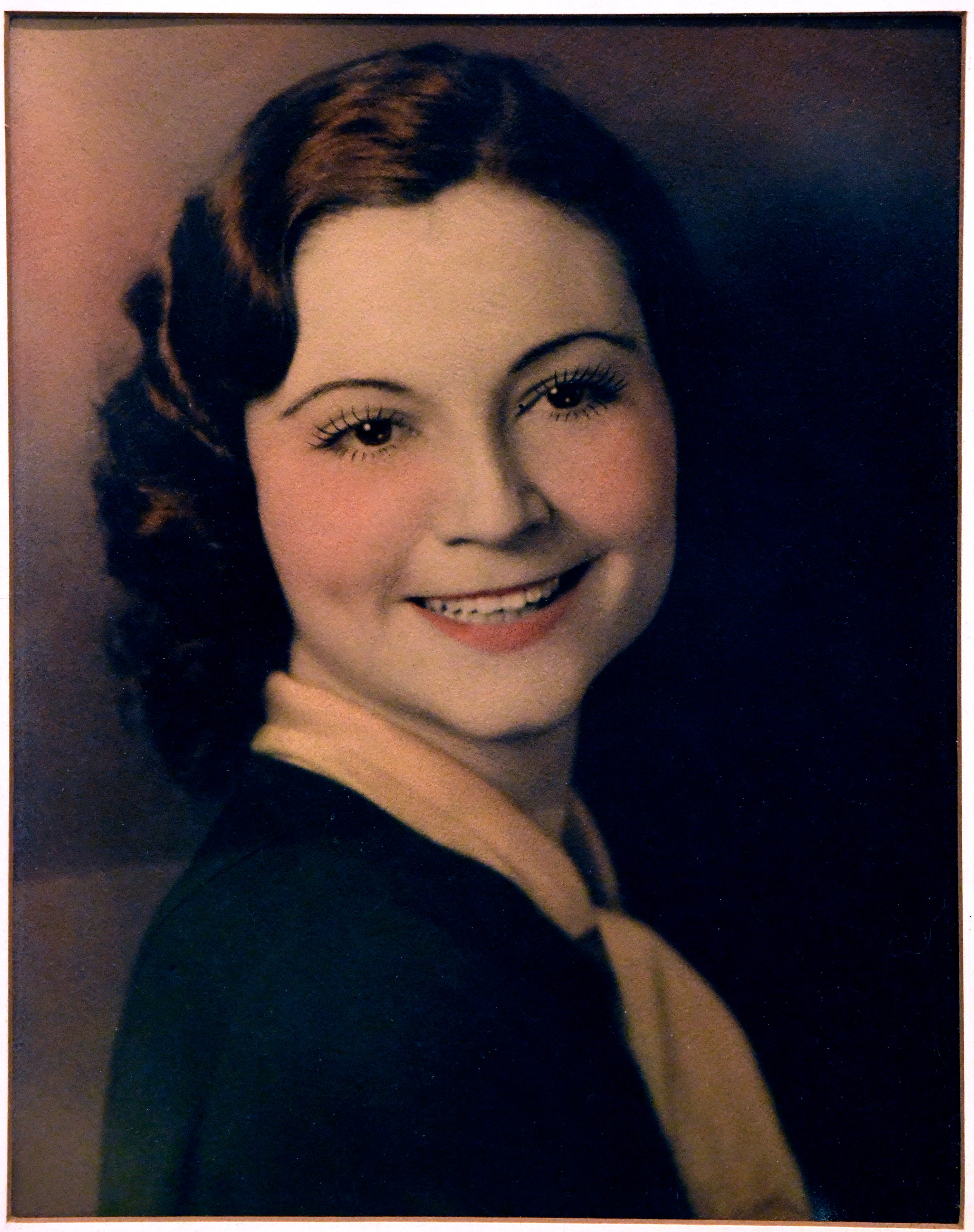 An undated photo of Gladys Henson who turned 107 Wednesday. The guess was that she was in her 20s at the time.