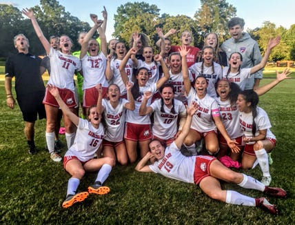 Carolina Day's soccer team advanced to the NCISAA 3A state title game after a 2-1 win on May 14.