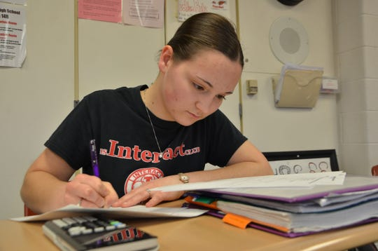 Coldwater High School senior Selena Hostetler was one of 113 students out of over 350,000 to record a perfect score on the AP United States Government and Politics Exam. A National Merit Scholarship finalist, she has been accepted into and plans to attend Princeton University.