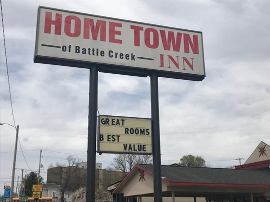 The Hometown Inn on Division Street in downtown Battle Creek is often frequented by Battle Creek Police. Between January 2018 and February 2019 there were 213 dispatch calls there.