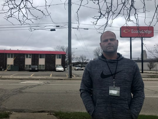 Matt Jones said he saw drug use and prostitution when he stayed  at the Econo Lodge for one month in December 2015. City officials are looking at ways they can increase inspections at the city's hotels to address crime and code violations.