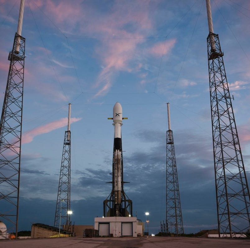 Updates: SpaceX scrubs Falcon 9 launch attempt due to winds