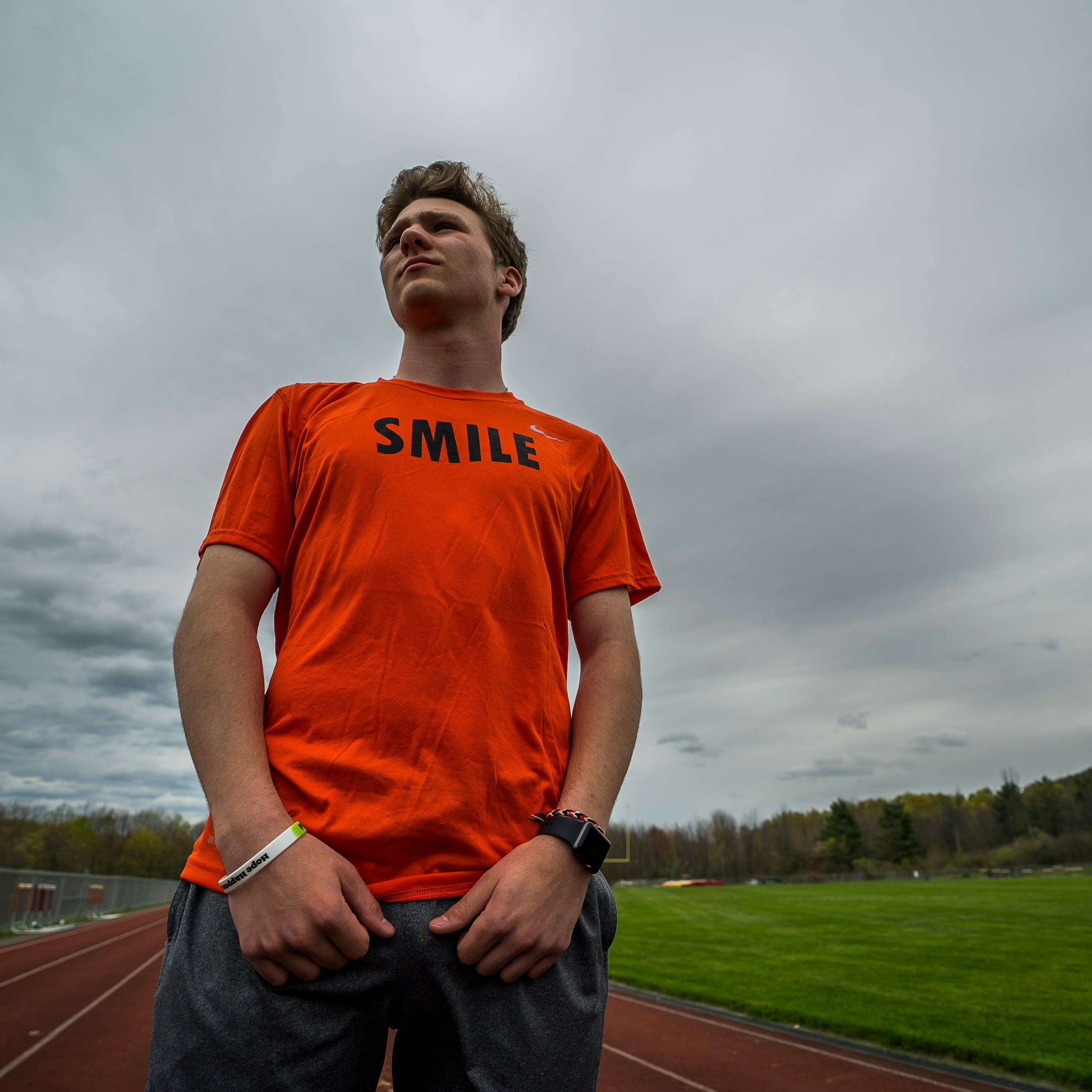 Vermont City Marathon: CVU's Tyler Skaflestad running for teen suicide awareness