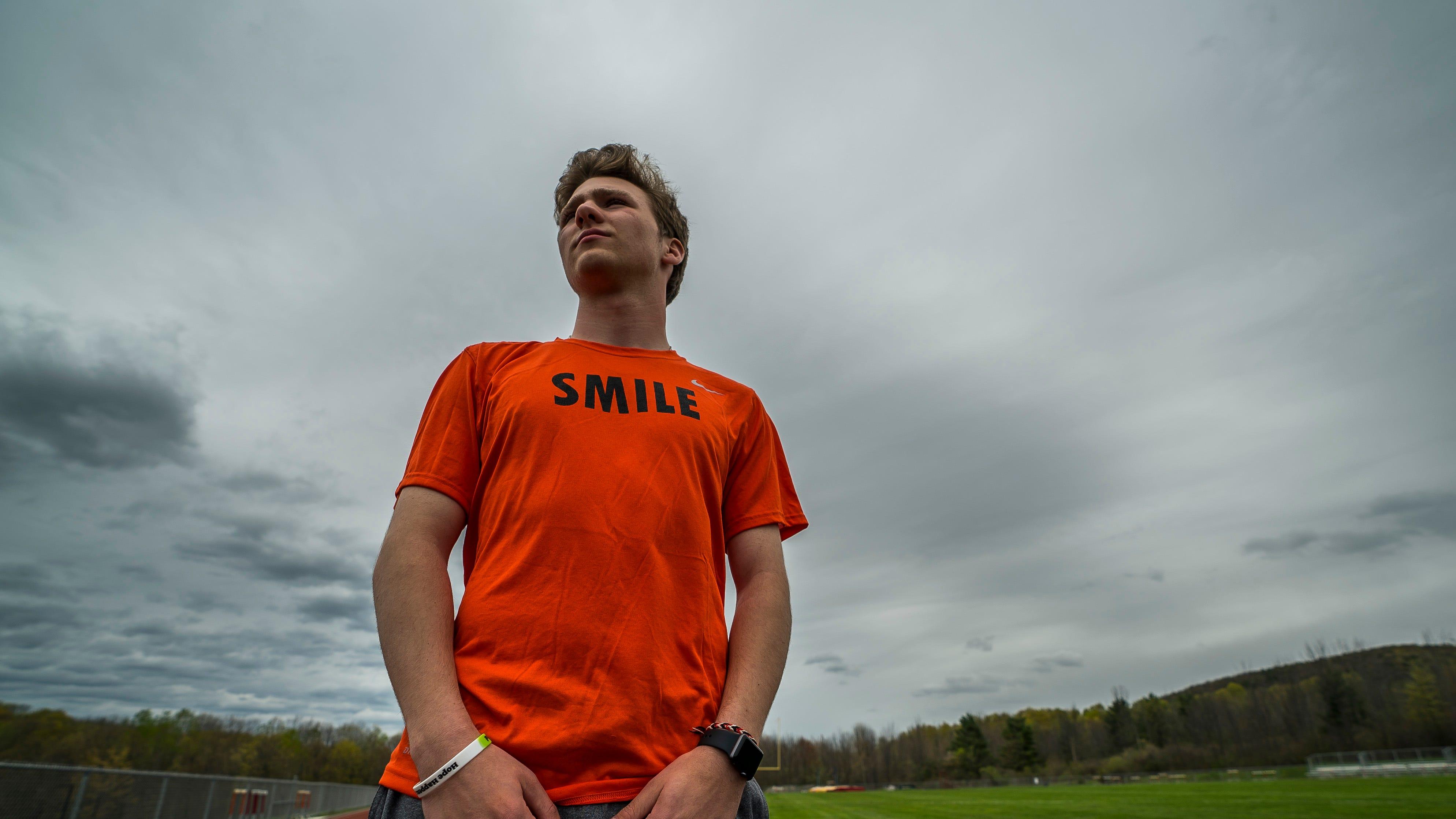 Vermont City Marathon: CVU's Tyler Skaflestad running for teen suicide awareness
