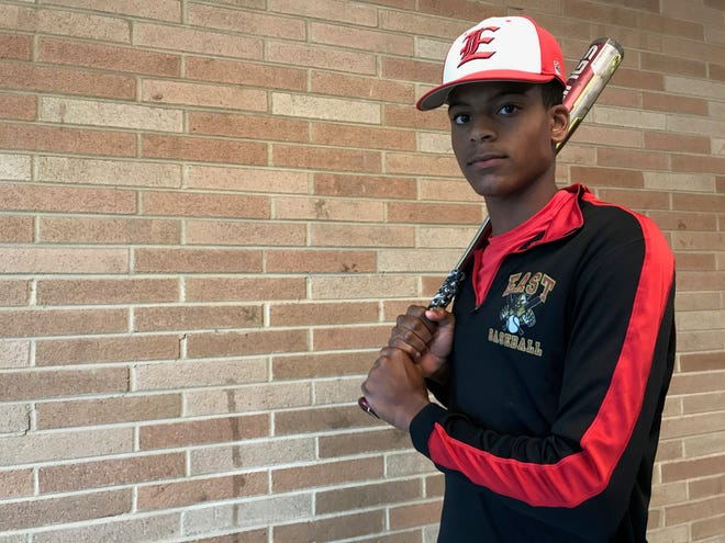 Cherry Hill East senior Alec Rodriguez has been the Cougars best hitter this season despite missing most of the last two years with injury. He's helped the Cougars produce their first winning record since 2014.