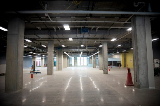 Kroger will open their new space on the corner of Walnut Street and Court Street in September.