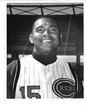 APRIL 1966: Reds player Chico Ruiz.