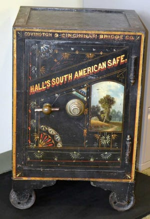 Earlier this year, a safe that historians believe to be from the 1860s-1870s, was pulled from long term storage at the Kentucky Transportation Cabinet.