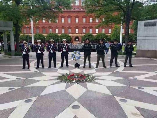 Jail Matron Regan Rosa was honored in Washington D.C. this week.