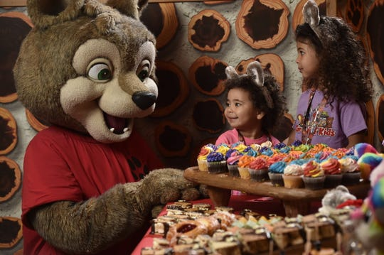 A birthday party at Great Wolf Lodge.