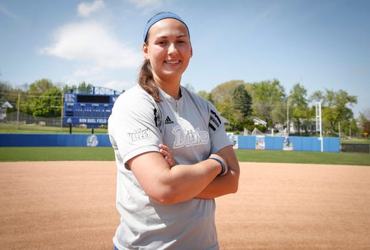 Drake pitcher Nicole Newman set NCAA history this season with five perfect games.