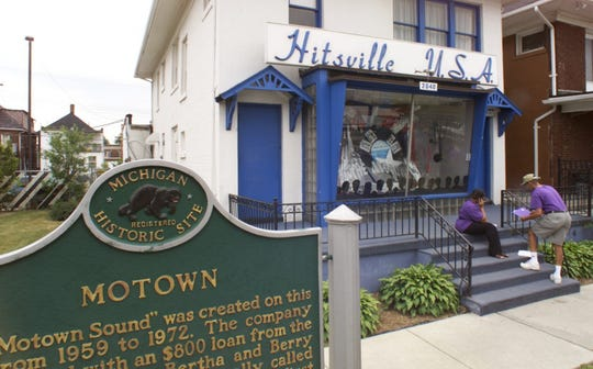 The Motown Museum is on West Grand Boulevard in Detroit.