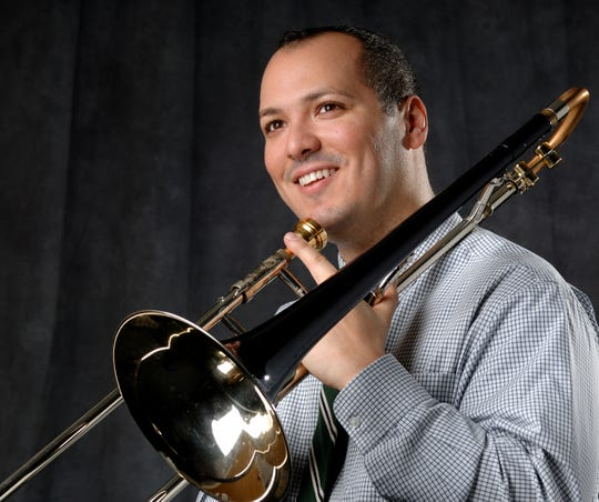 Michael Dease has won Grammy awards and directed the Spartan Jazz Trombones.