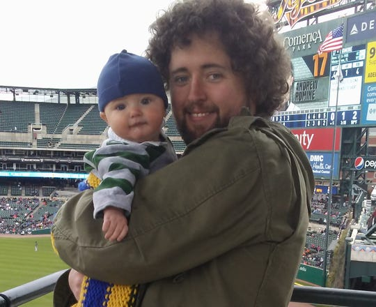 Ely Hydes and his son, Cy.