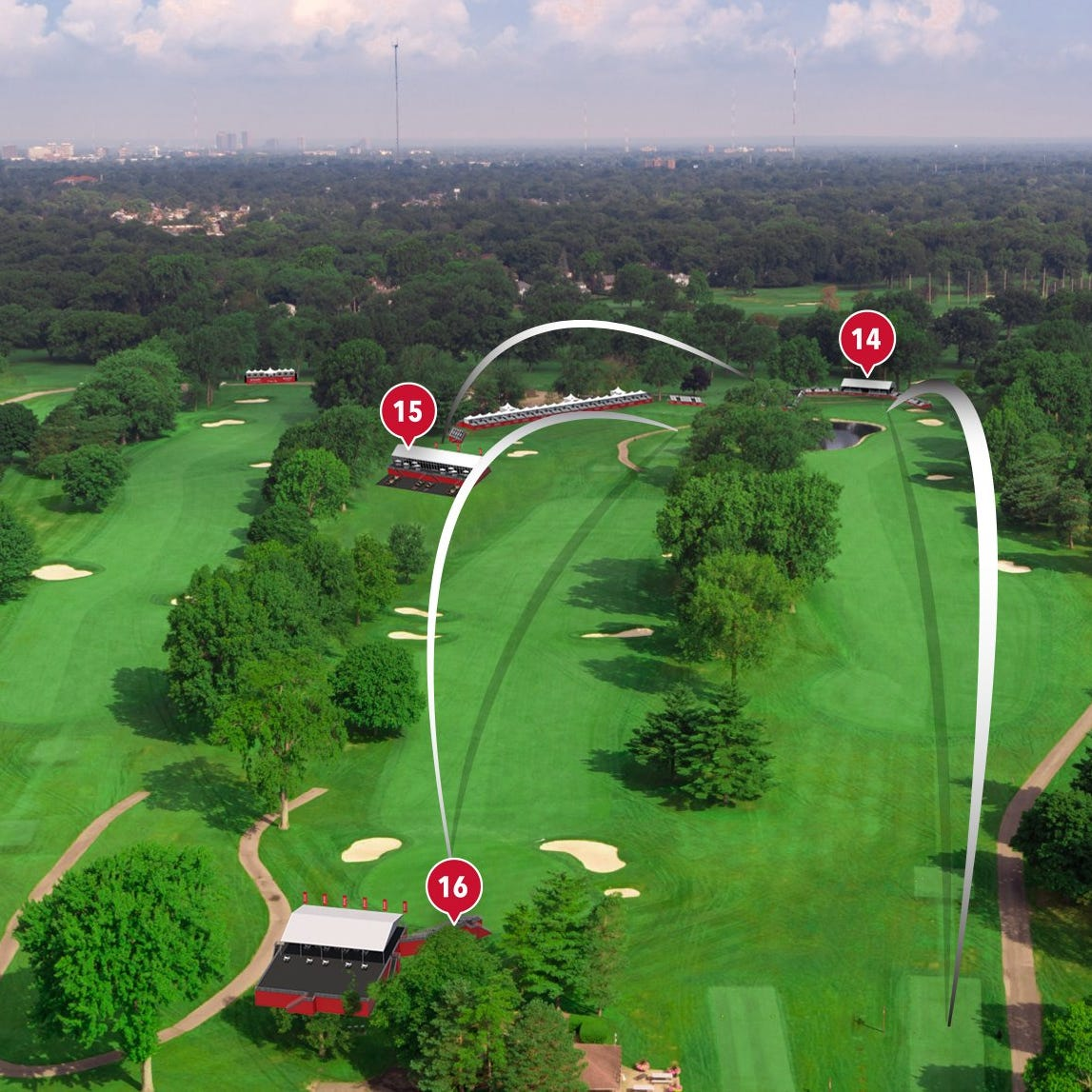 Rocket Mortgage Classic 'Area 313' details revealed for Detroit Golf Club