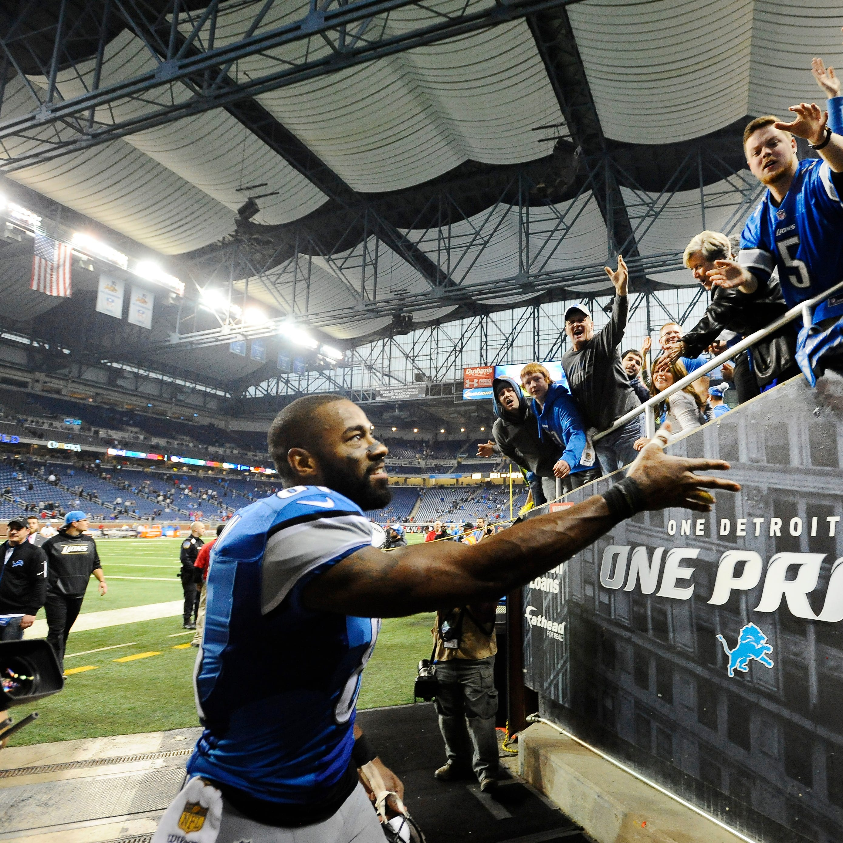 Lions' Wood: 'Very high priority' to mend fences with Calvin Johnson