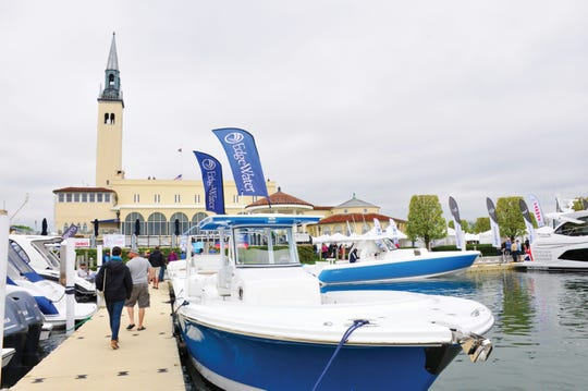 The Great Lakes Boat Show is this weekend at the Grosse Pointe Yacht Club.