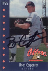 Brian Carpenter 1995 Evansville Otters