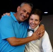 Steve Bogard and son Mason.