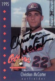 Christian McCarter 1995 Evansville Otters