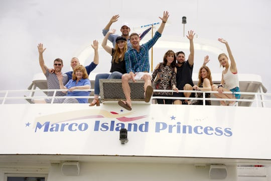 Soap stars return to Marco Island after taking a cruise with soap fans on the Marco Island Princess during the 2018 SoapFest.