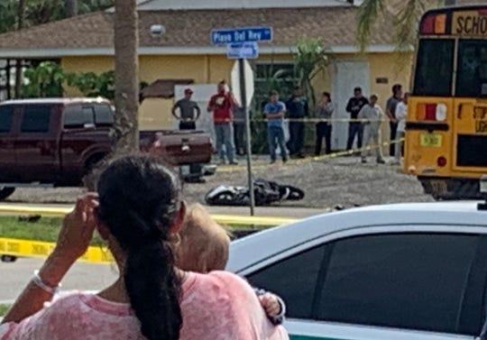Bonita Springs man, 22, killed when his motorcycle strikes bus